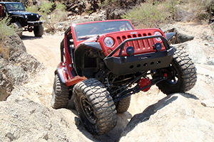 Jeep Wrangler with XD Series Addict Wheels and Nitto Mud Grappler Tires