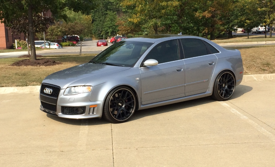 2007 audi rs 4 with bbs chr wheels and some fun goodies. Black Bedroom Furniture Sets. Home Design Ideas