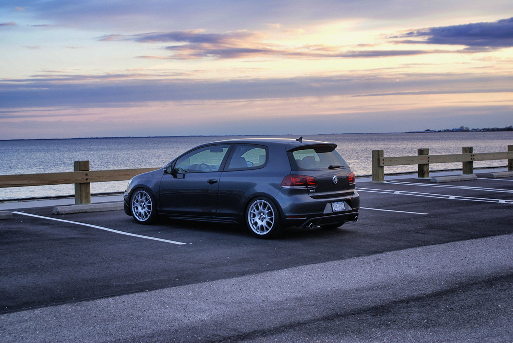 The MKVI Volkswagen GTI w/ BBS Wheels and all sorts of Goodies