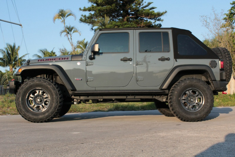 This Jeep Wrangler With Atx Wheels And Off Road Tires Is