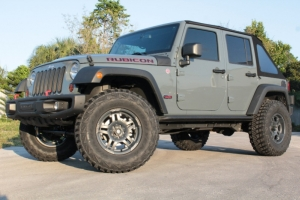 Jeep Wrangler with ATX Wheels