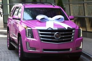 Teddy Bridgewater Pink Cadillac Escalade