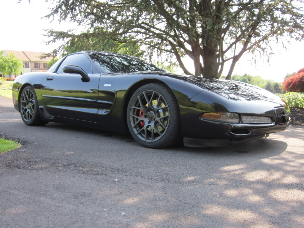 This C5 Corvette Z06 with TSW Wheels and Dyno Tune is Ready to Rock