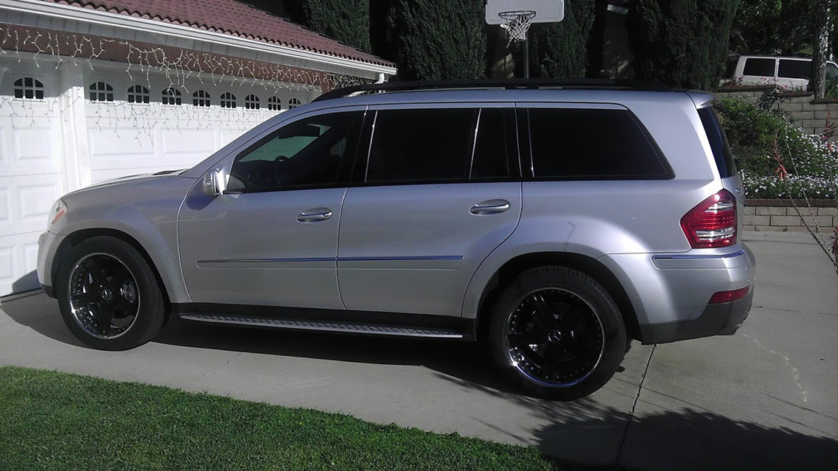 This Mercedes Benz Gl 450 W Mandrus Mercedes Wheels Is