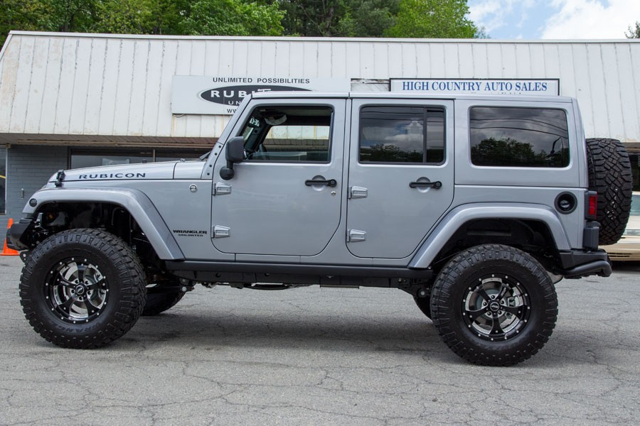 This Jeep Wrangler Rubicon With Bmf Rims Is Ready For The Off Road
