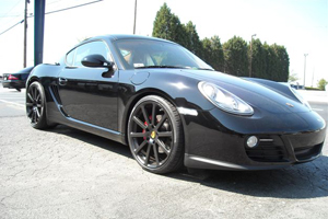Cayman S Victor Equipment Porsche wheels