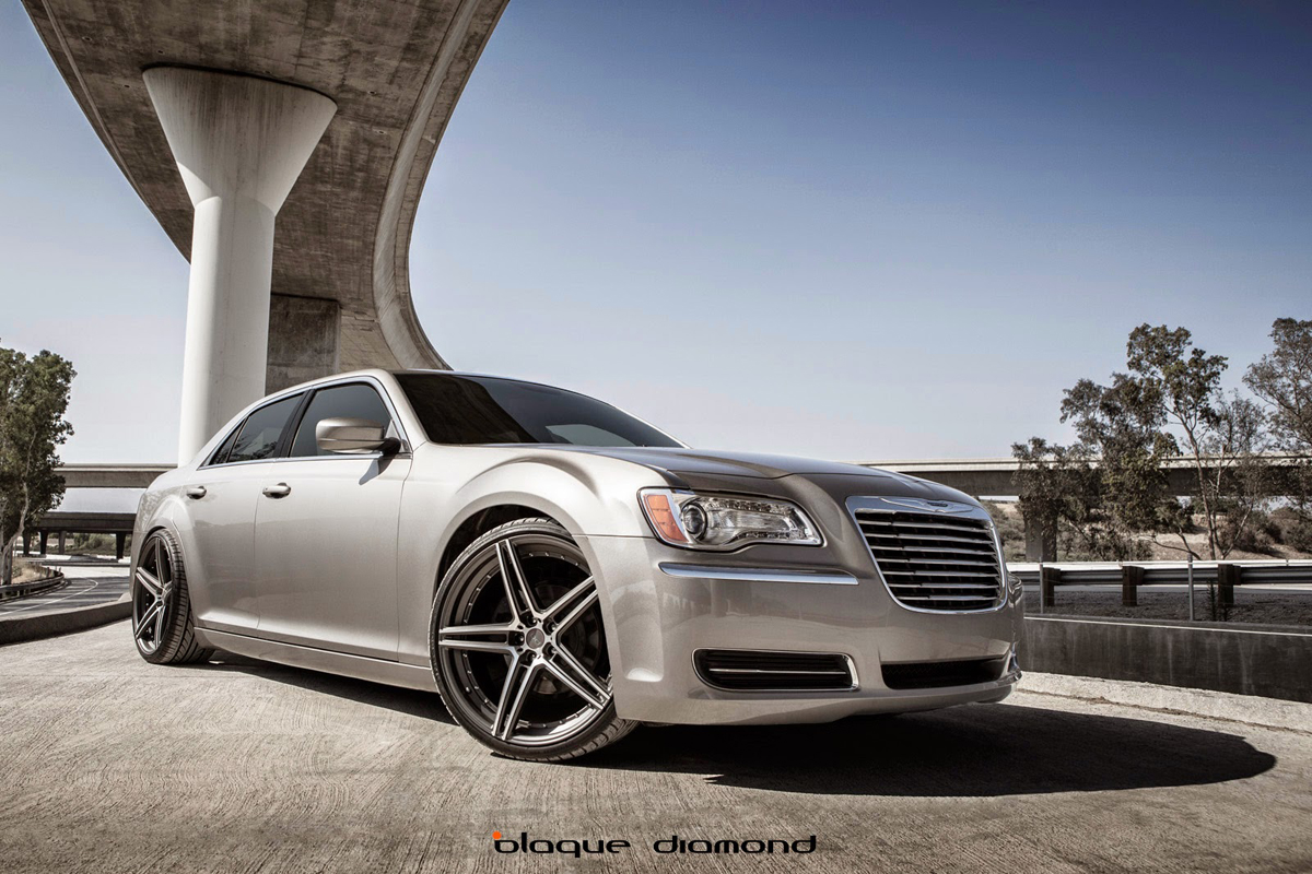 Check Out This Stunning Chrysler 300 Blaque Diamond Wheels