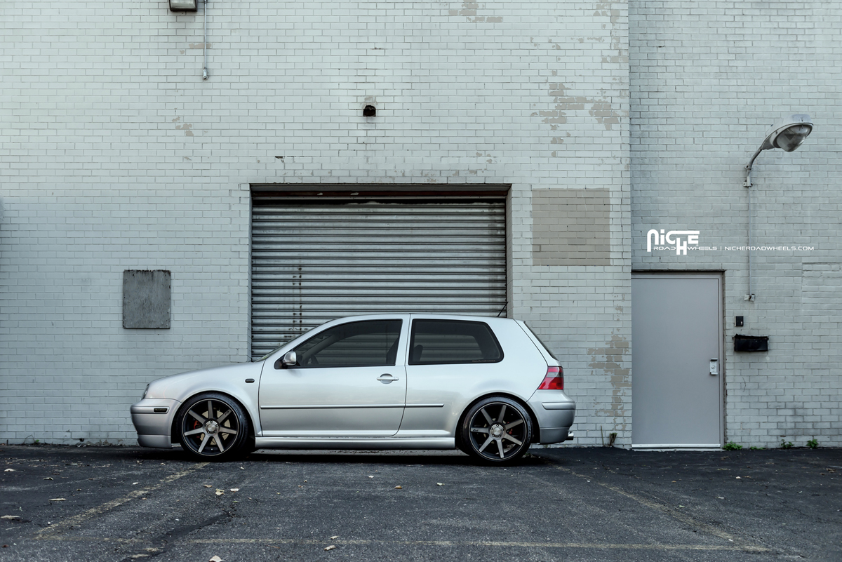 Drop It With This Volkswagen Gti And New Niche Wheels