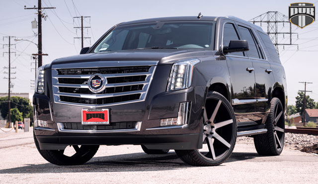 The Big Bad Cadillac Escalade With Dub Wheels Rides In Style