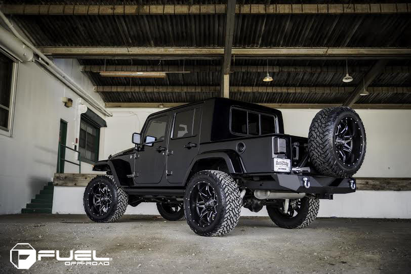Jeep Wrangler Rims And Tire Packages >> Fuel Tire And Wheel Packages Were A Perfect Fit On This Jeep Wrangler