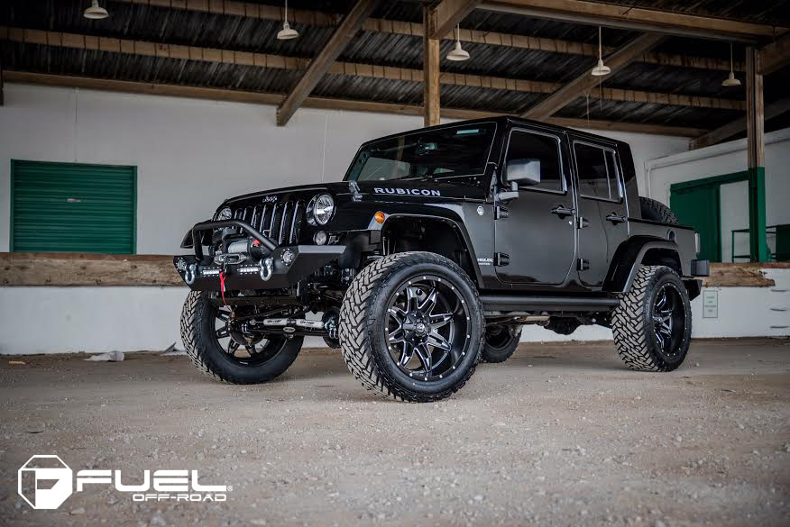 Jeep Wrangler Fuel Tire And Wheel Packages