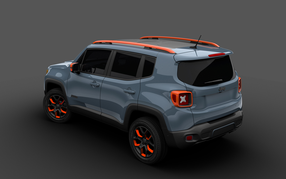New Jeep Renegade >> The new Urban Jeep Renegade Sports MOPAR Styling, Wheels ...