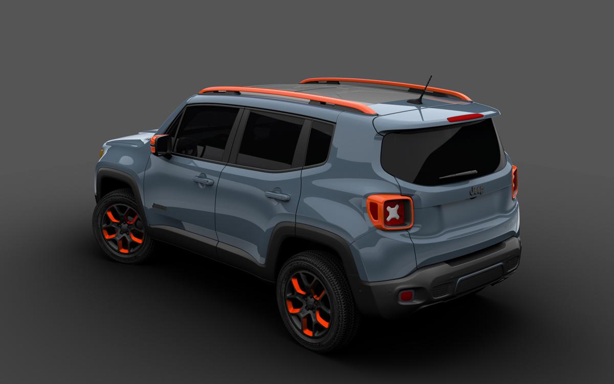 The New Urban Jeep Renegade Sports Mopar Styling Wheels