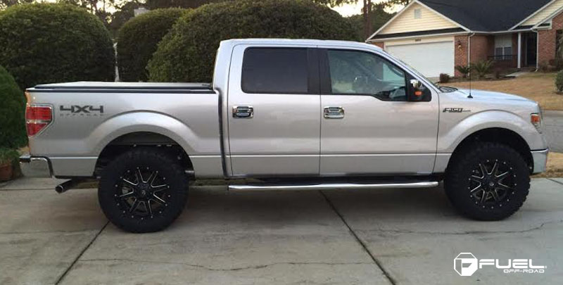 This Ford F 150 With Fuel Wheels And More Has All The