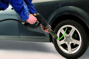 Nitrogen Gas Tire