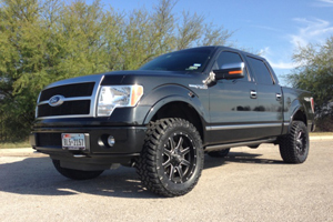 Get Lifted with this Ford F150 and its New Fuel Wheels ...