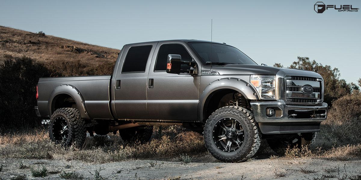 Chevrolet 6.2 Diesel >> Bring the Toughness with these Fuel Ford F250 Wheels! - WheelHero