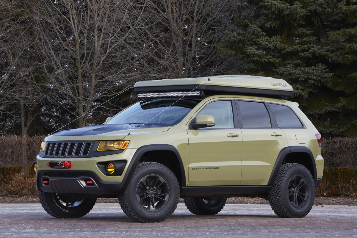 Expedition Time w/the Grand Cherokee Overlander and Off ...