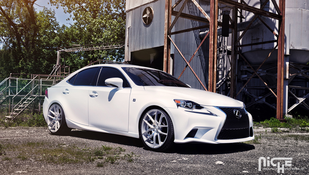 lexus is250 f sport with niche targas wheel and tire package. Black Bedroom Furniture Sets. Home Design Ideas
