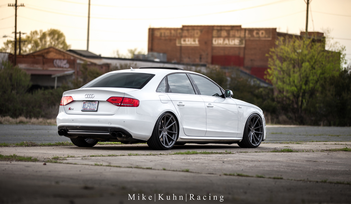this 2010 audi s4 with tsw wheels is a german stormtrooper. Black Bedroom Furniture Sets. Home Design Ideas