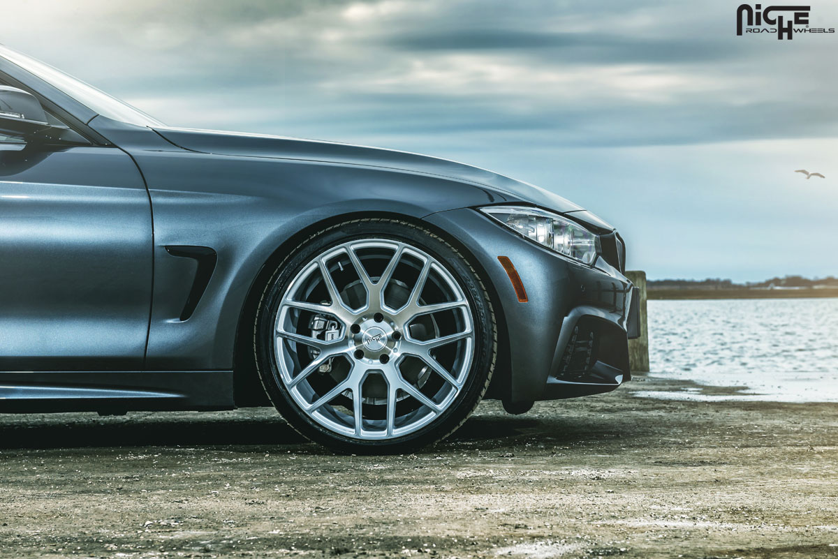 Stand Tall With This Bmw 428i Gran Coupe With Staggered Niche Wheels