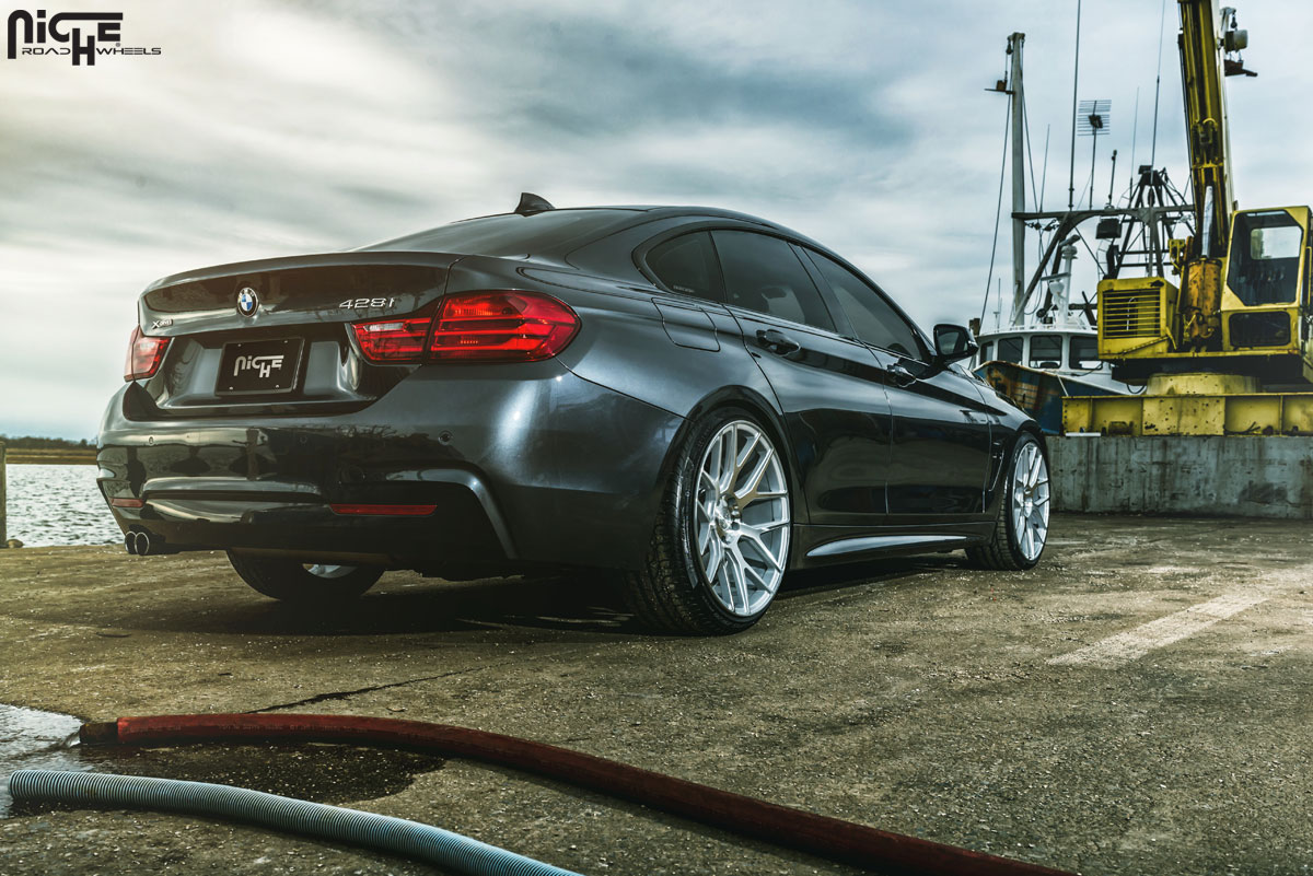 Stand Tall with this BMW 428i Gran Coupe with Staggered ...