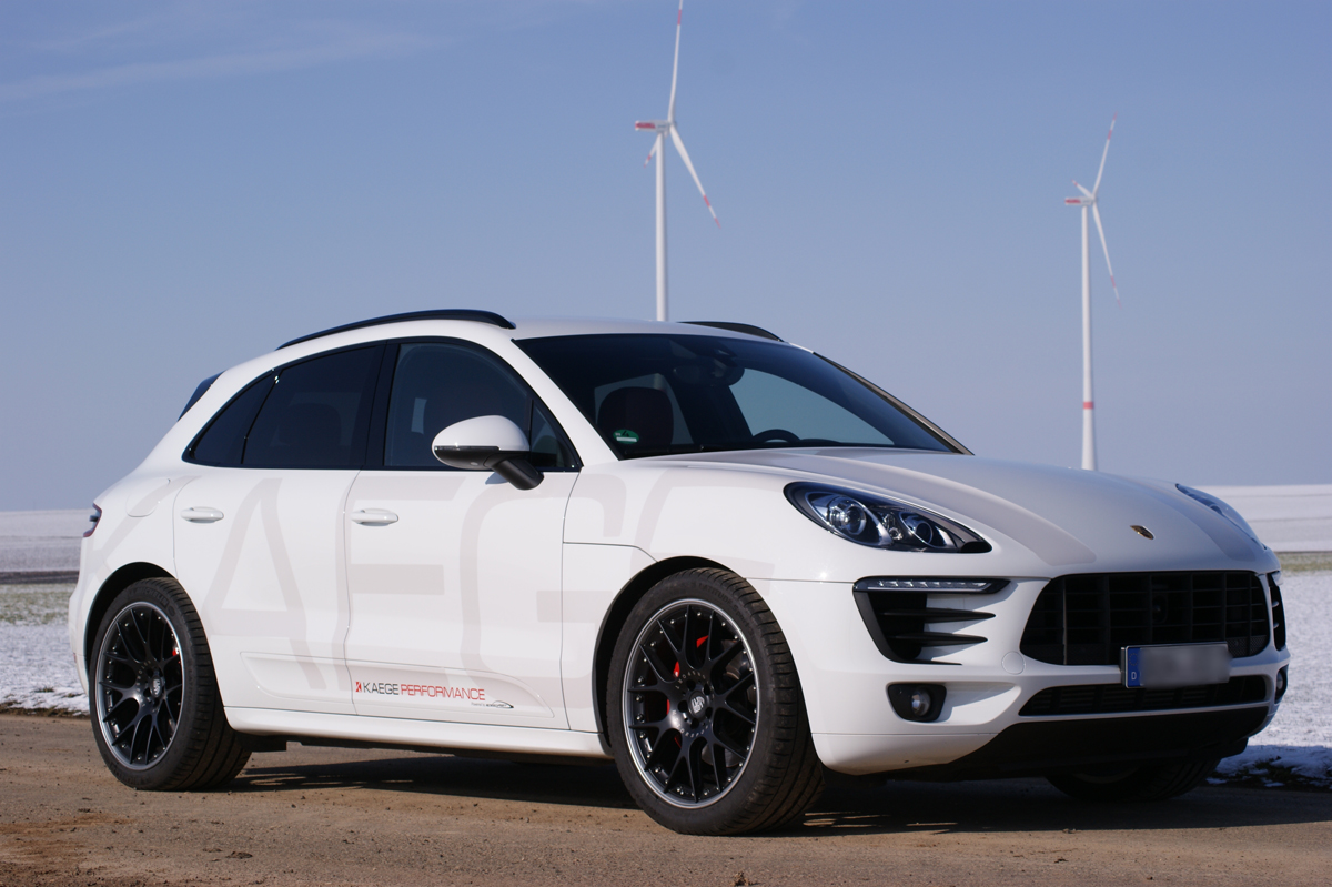 The KAEGE Porsche Macan S Diesel with BBS Wheels is Torquey