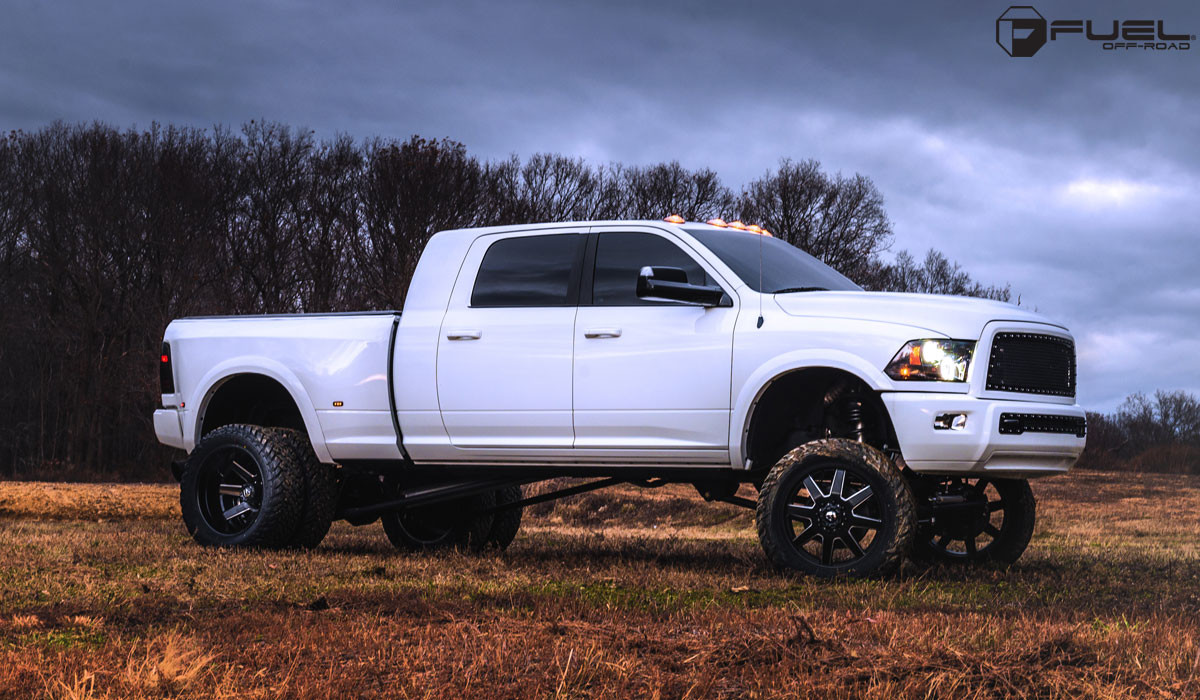 Beef Up With The Ram 3500 Dually And Fuel Wheels Wheelhero