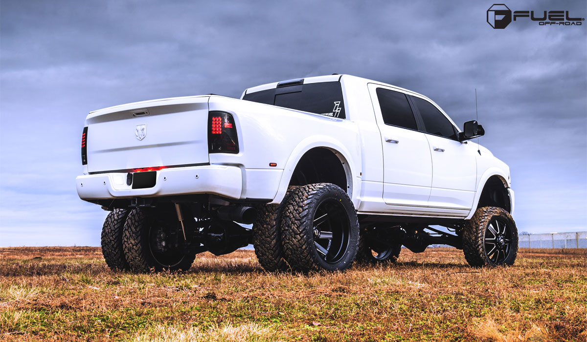 Beef Up With The Ram 3500 Dually And Fuel Wheels