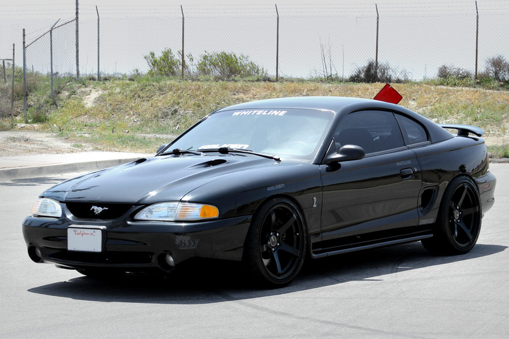 Ford With Wheels Tires Enkei Mustang This On Smoke