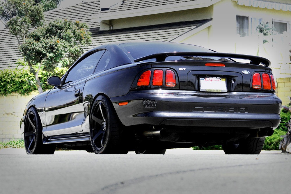 Smoke Tires With This Ford Mustang On Enkei Wheels