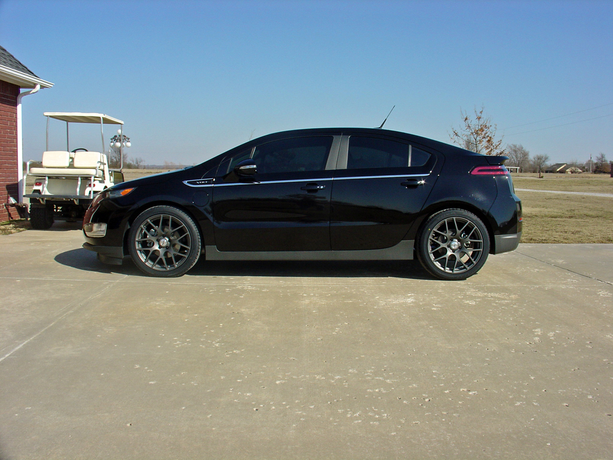 Chevy Volt Custom Wheels >> Go Hybrid with this Chevy Volt wearing TSW Wheels