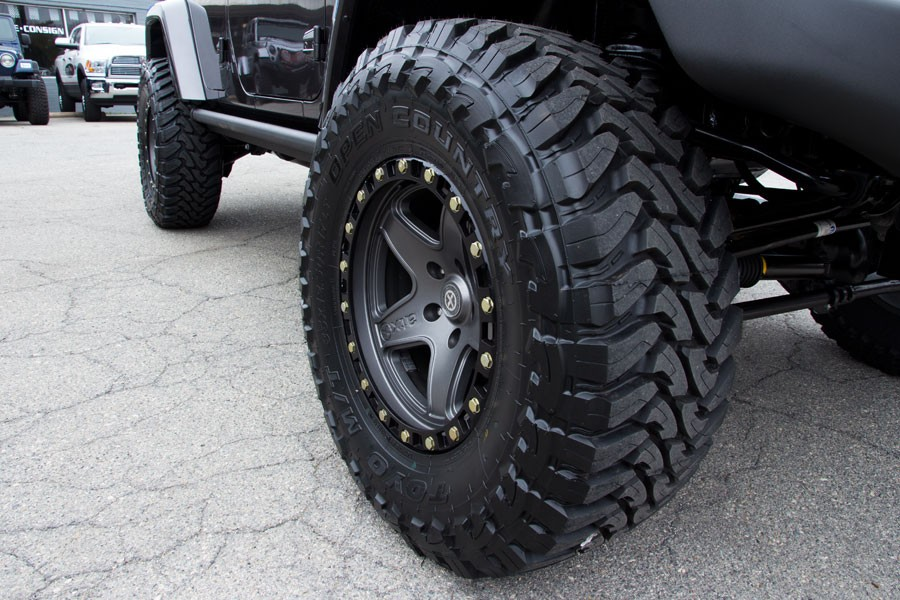 Pound Some Granite With This Jeep Wrangler And Atx Wheels