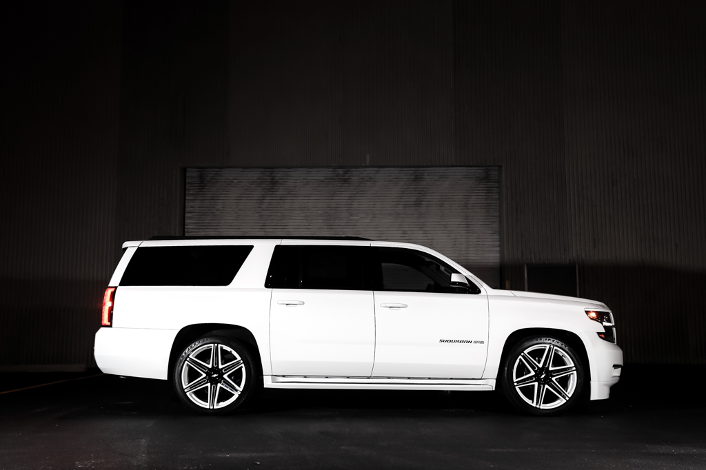 This Chevrolet Suburban With Dub Wheels Has The Skillz