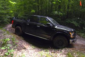 Ford F-150 Raptor Off Road wheels testing