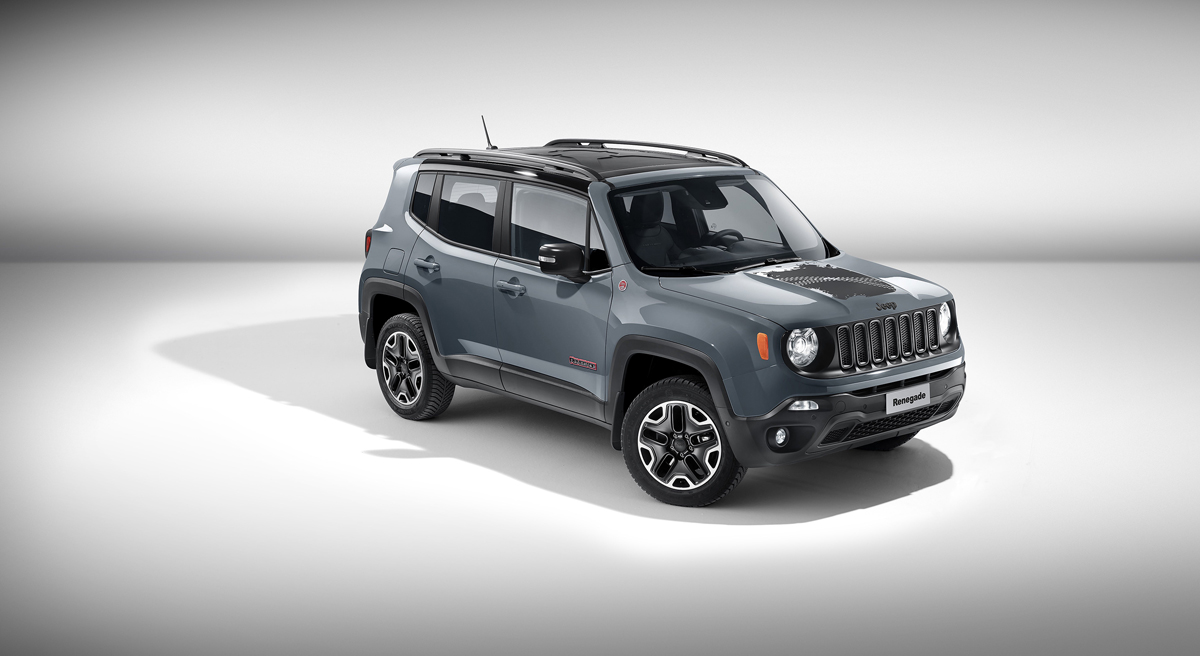 Renegade Trailhawk With Jeep Wheels and MOPAR Goodies!