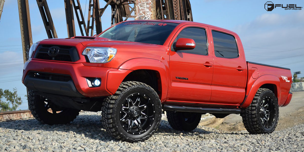 Get Lethal with this Toyota Tacoma on Fuel Wheels!