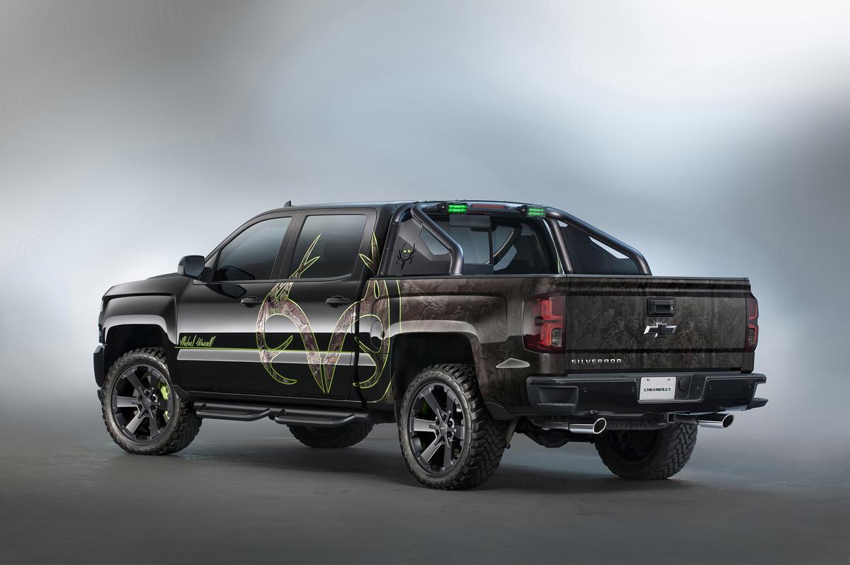 Chevy Silverado Custom Wheels >> Get Custom Wheels And Camo W The Sema Bone Collector