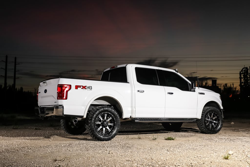 Ford F150 Wheels And Tires >> This Fuel F150 Lariat with Fuel Wheels has Nutz!