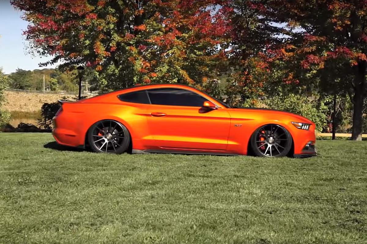 2015 Mustang Stripes >> 2015 Ford Mustang GT with Niche Wheels – Video