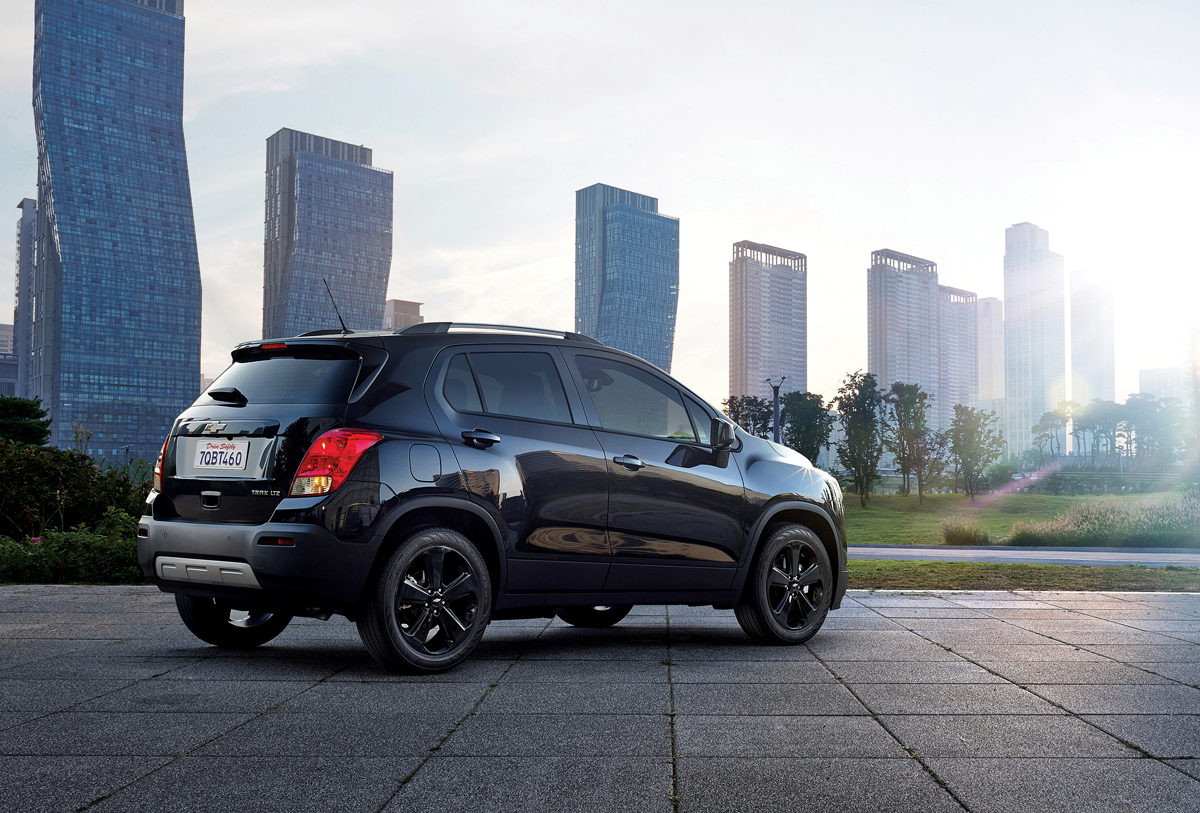 Chevy Small Suv >> Go Dark with the Chevrolet Trax Midnight with Custom Wheels