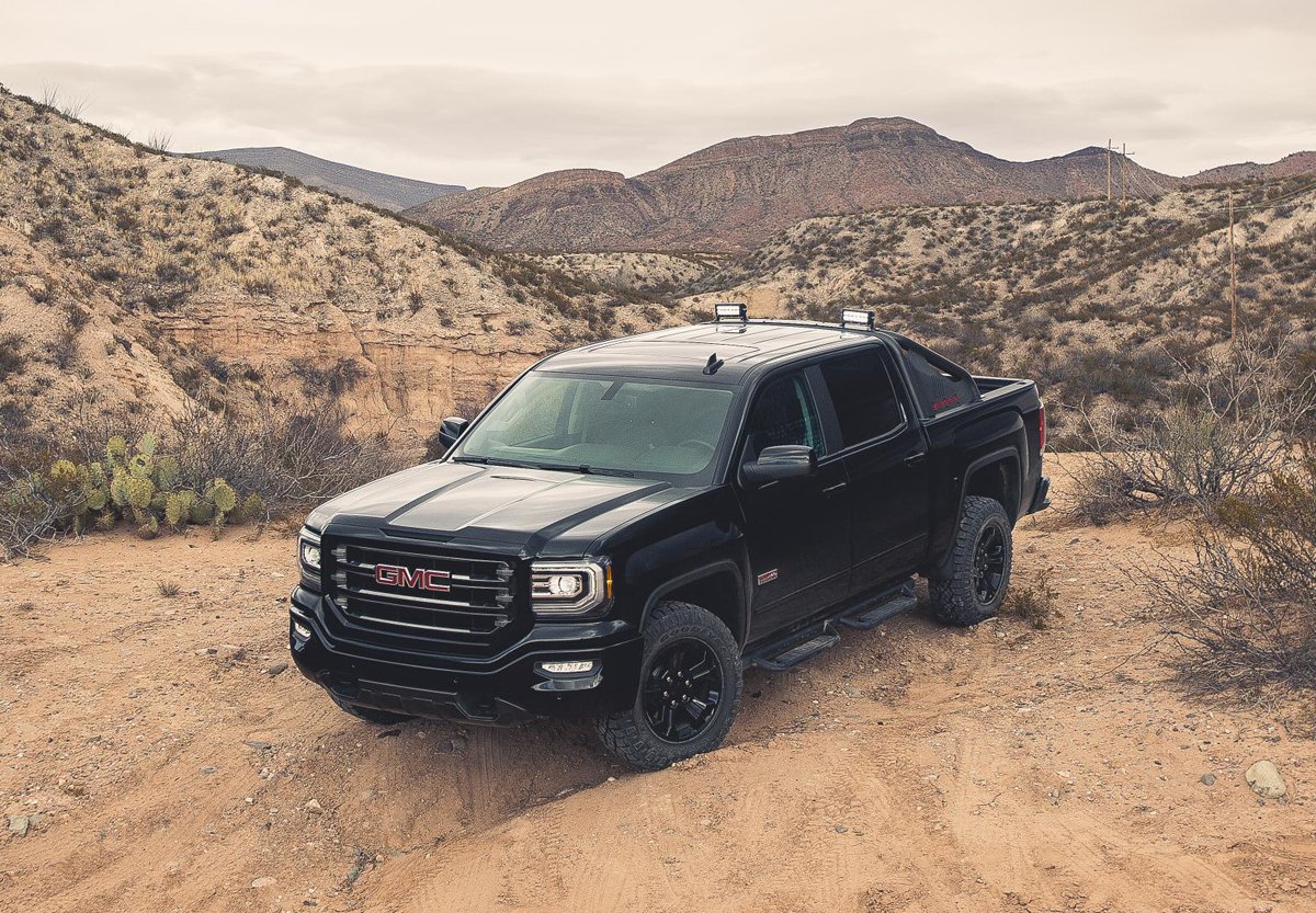 Gmc Special Edition Trucks >> Get new GMC Sierra Wheels with the All Terrain X!