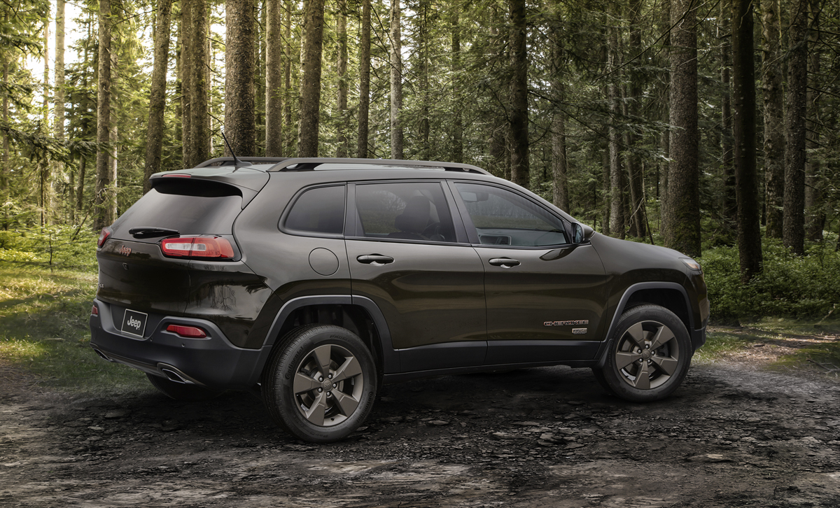 Celebrate 75 with the Jeep Cherokee and new Custom Wheels
