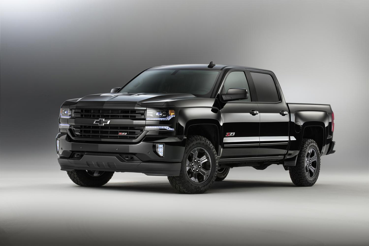 Get Dark Off Road Rims And Tires With Chevy Midnight Editions