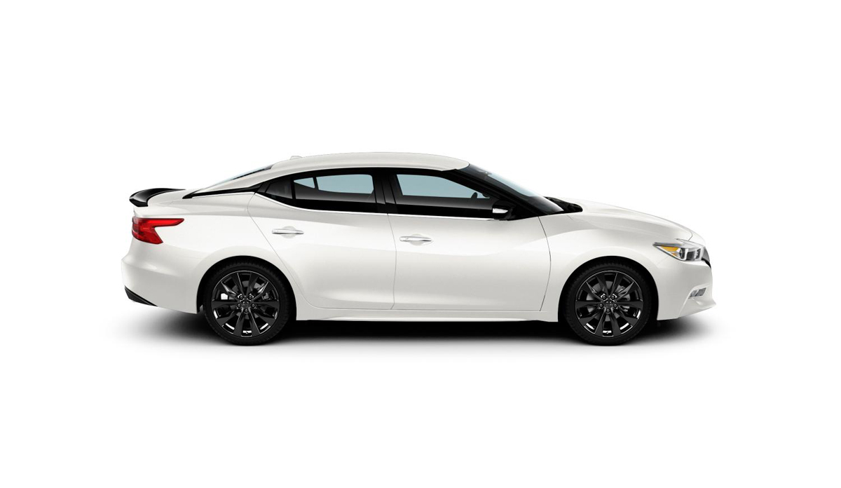 Get Some Black Car Rims With The Maxima Sr Midnight Edition