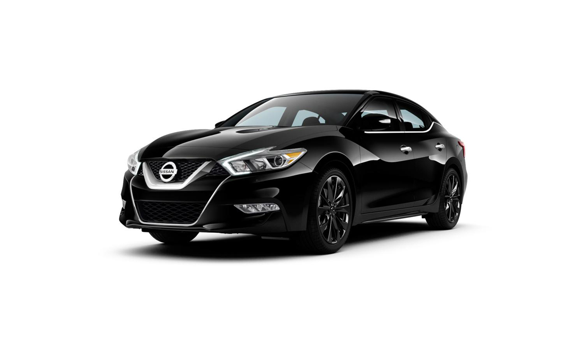 Get some Black Car Rims with the Maxima SR Midnight Edition!