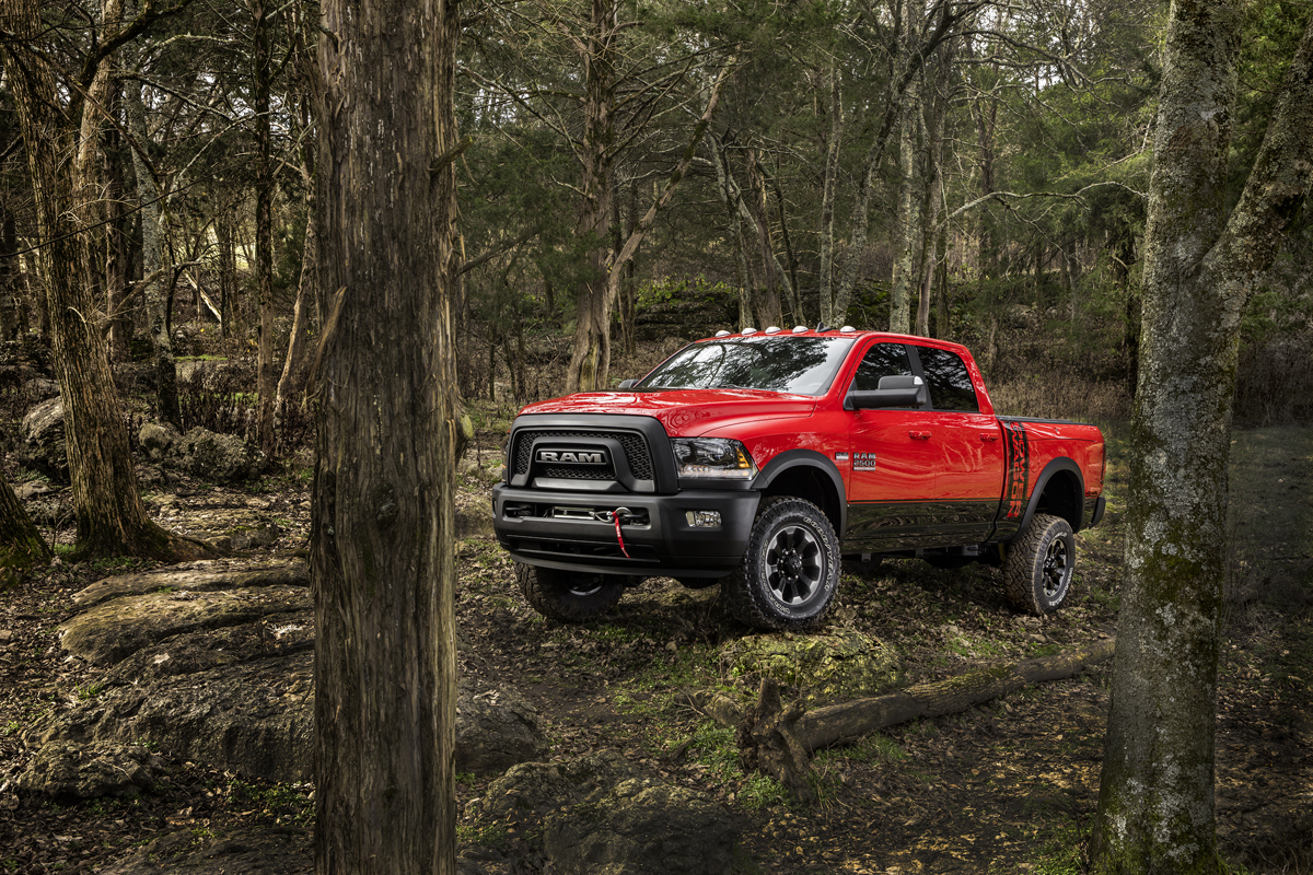 The Power Wagon is back with tough Dodge RAM Wheels!