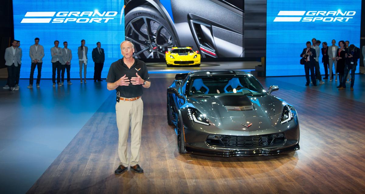 Z07 >> Meet the new 2017 Corvette Grand Sport with Custom Wheels!