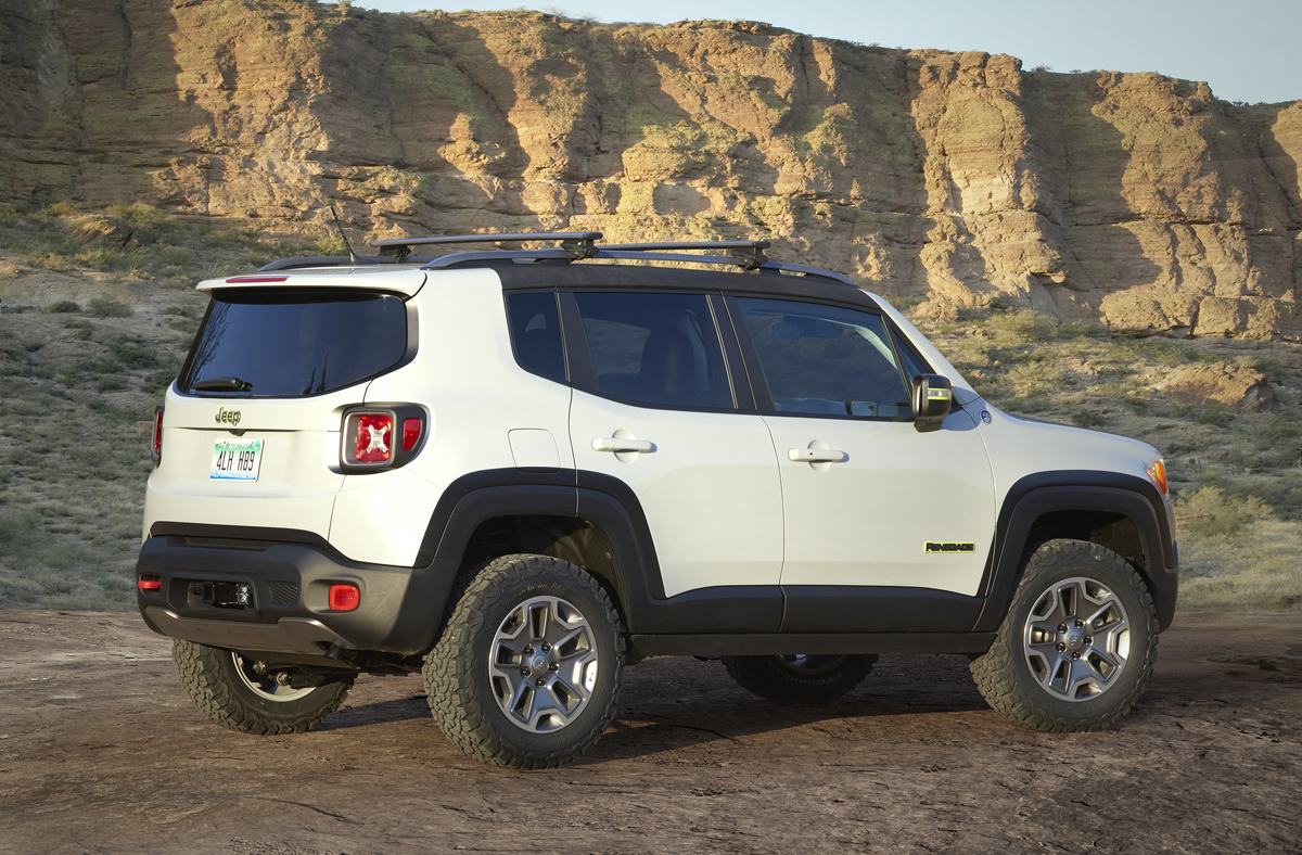 Jeep Renegade Roof >> Ride All Terrain Rims and Tires with the Renegade Commander!