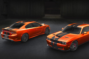 Go Mango Dodge Challenger and Charger